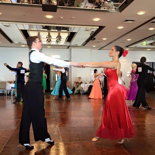 Ballroom dancing in Sydney