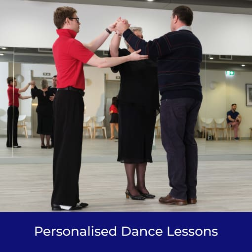 Private dance lesson in action in Sydney
