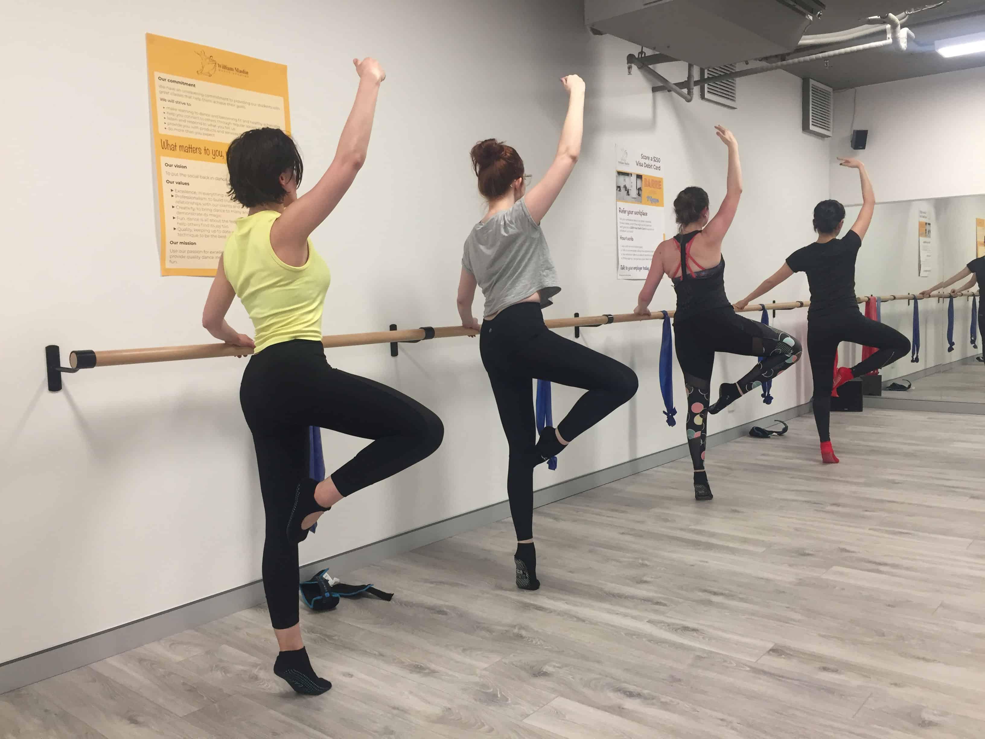 Barre class in Sydney