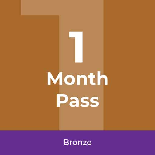 1 Month Fitness Pass