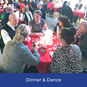 Dinner and dance social event in Sydney