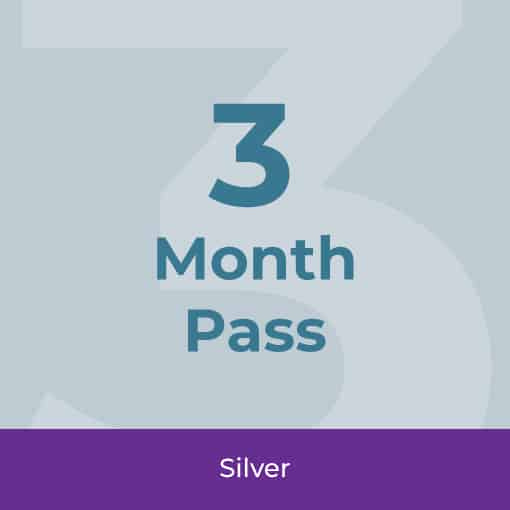 3 Month Fitness Pass Icon