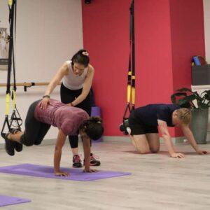 TRX fitness class Sydney