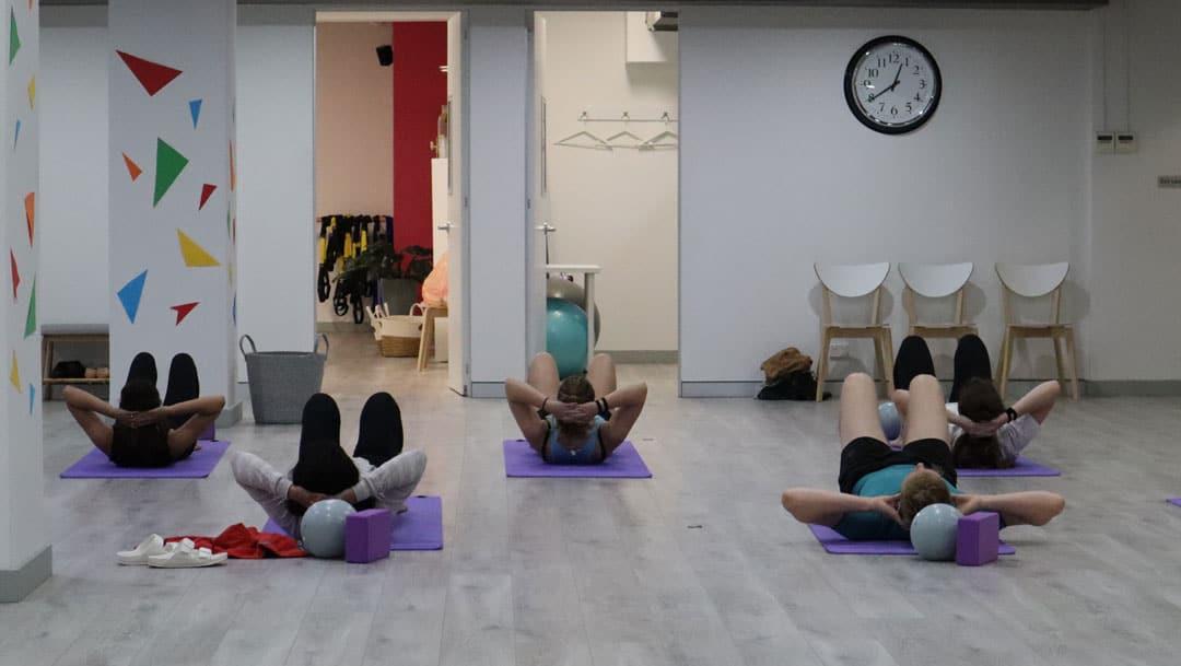 Mat Pilates Class Sydney